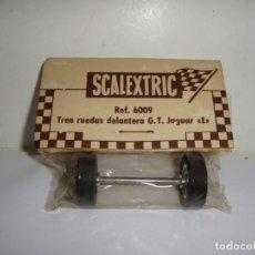 Scalextric: SCALEXTRIC SCX. SRS EXIN. TREN RUEDAS DELANTERO. G.T. JAGUAR E. REF. 5194. Lote 237645465