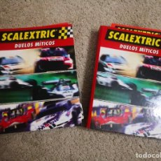 Scalextric: FASCICULOS COLECCION SCALEXTRIC DUELOS MITICOS INCOMPLETA. Lote 237972900