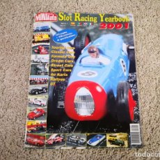Scalextric: MINIAUTO SLOT RACING YEARBOOK 2001 SCALEXTRIC. Lote 237993050