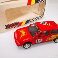 Scalextric: CITROEN ZX 16V 10103 RED CATALUNYA TEAM SLOT TEAMSLOT SCALEXTRIC RESINA. Lote 238166815