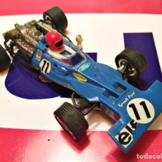Scalextric: COCHE EXIN F1 TYRRELL-FORD AZUL. Lote 238517680