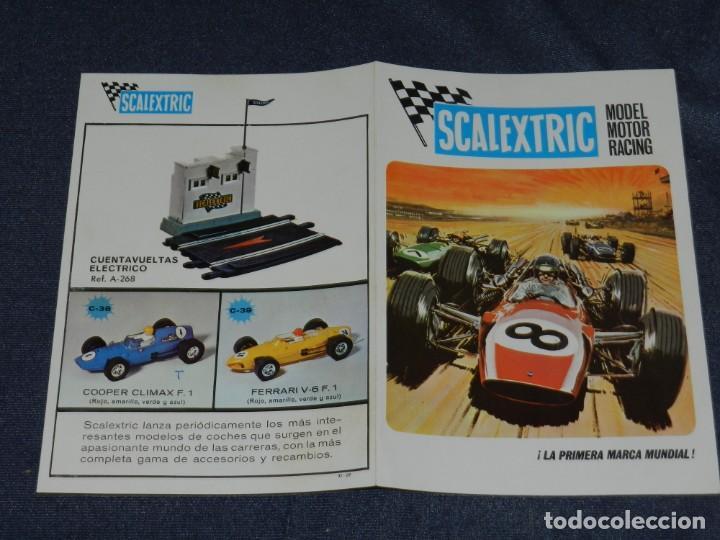 (M) CATALOGO SCALEXTRIC MODEL MOTOR RACING 1969 , ILUSTRADO (Juguetes - Slot Cars - Scalextric Exin)