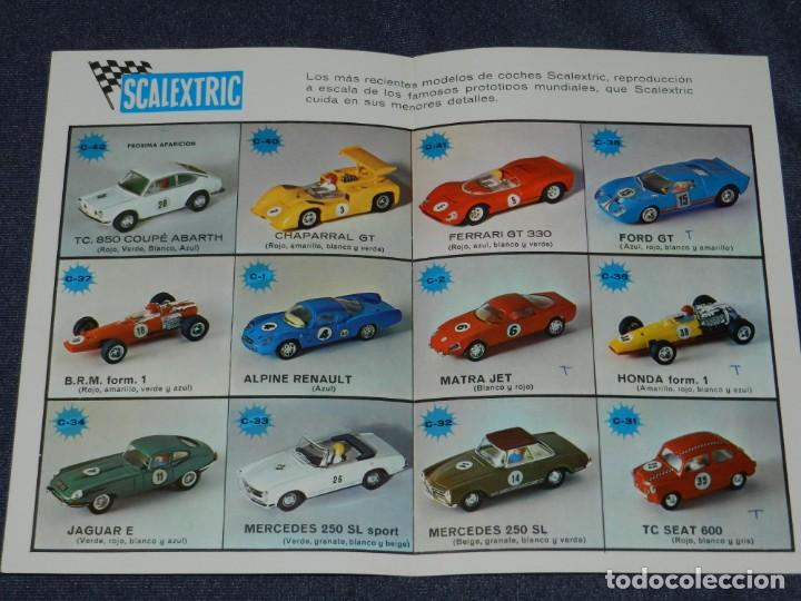 Scalextric: (M) CATALOGO SCALEXTRIC MODEL MOTOR RACING 1969 , ILUSTRADO - Foto 2 - 238590430