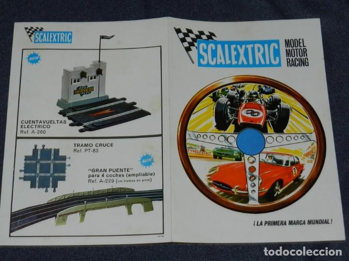 (M) CATALOGO SCALEXTRIC 1968 - MODEL MOTOR RACING , ILUSTRADO (Juguetes - Slot Cars - Scalextric Exin)