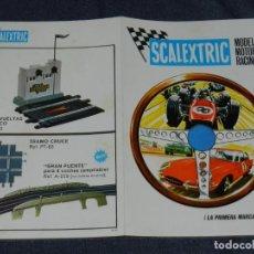 Scalextric: (M) CATALOGO SCALEXTRIC 1968 - MODEL MOTOR RACING , ILUSTRADO. Lote 238590615