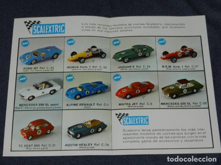Scalextric: (M) CATALOGO SCALEXTRIC 1968 - MODEL MOTOR RACING , ILUSTRADO - Foto 2 - 238590615