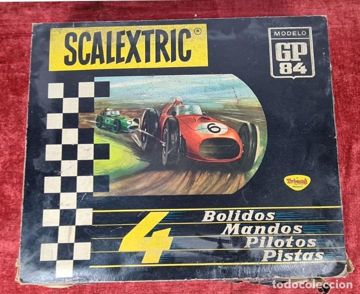 Scalextric: PISTA DE SCALEXTRIC GP.84. EXIN. INCOMPLETA. CIRCA 1970. - Foto 8 - 239371395