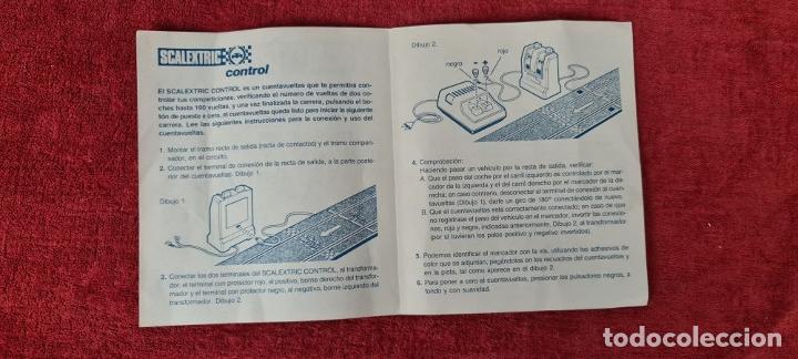 Scalextric: PISTA DE SCALEXTRIC GP.84. EXIN. INCOMPLETA. CIRCA 1970. - Foto 11 - 239371395