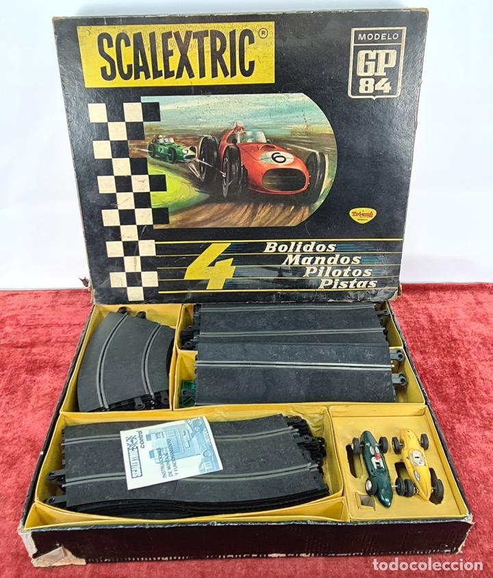 PISTA DE SCALEXTRIC GP.84. EXIN. INCOMPLETA. CIRCA 1970. (Juguetes - Slot Cars - Scalextric Exin)