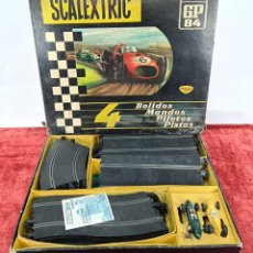 Scalextric: PISTA DE SCALEXTRIC GP.84. EXIN. INCOMPLETA. CIRCA 1970.. Lote 239371395