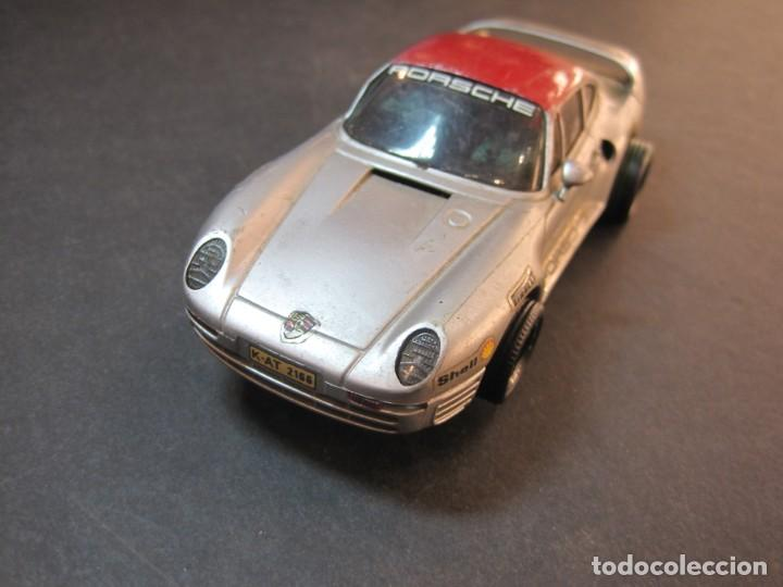 SCALEXTRIC-PORSCHE 959-COCHE JUGUETE-VER FOTOS (Juguetes - Slot Cars - Scalextric Exin)