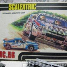Scalextric: SCALEXTRIC CIRCUITO RC 56 --2 LANCIAS RALLY, + STRATOS +MULTIPLES PISTAS. Lote 239849490