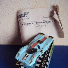 Scalextric: (JU-210241)PORSCHE -917. SCALEXTRIC EXIN. REF C-46 . CAJA ORIGINAL E INSTRUCCIONES. Lote 241080660