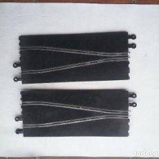 Scalextric: 2 PISTAS CAMBIO DE CARRIL PARA SCALEXTRIC. Lote 241100990