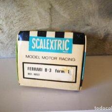 Scalextric: CAJA FERRARI B3 F1 EXIN. Lote 241104055