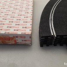Scalextric: SLOT SCALEXTRIC EXIN 6X PISTA TRAMO CURVA STANDARD REF.3051 EN CAJA. Lote 241868905