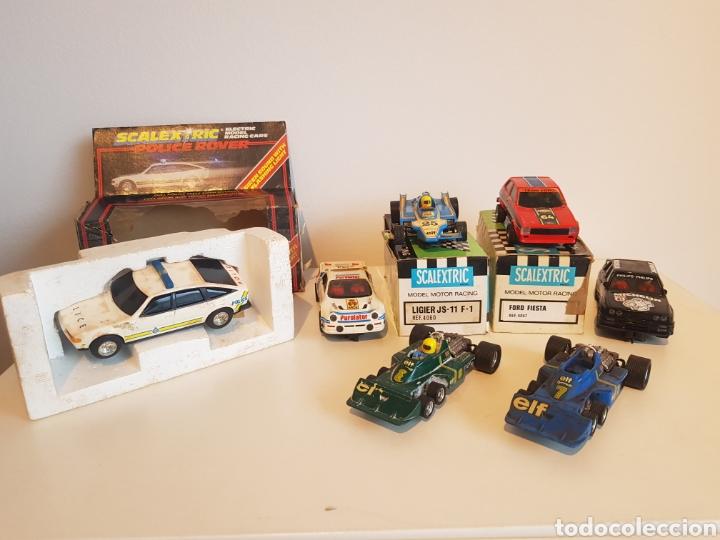SCALEXTRIC EXIN GRAN LOTE DE COCHES Y MAS AÑOS 70 TAL CUAL FOTOS (Juguetes - Slot Cars - Scalextric Exin)