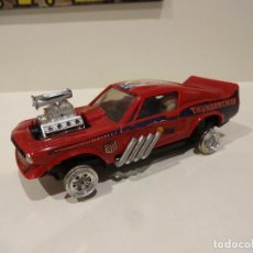 Scalextric: SCALEXTRIC. EXIN MEXICO. FORD MUSTANG DRAGSTER ROJO OSCURO. REF. 4049. Lote 243272305