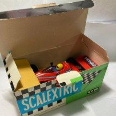 Scalextric: BRABHAM BT 46 SCALEXTRIC EXIN CON CAJA REF 4056 ROJO AÑOS 70 BUEN ESTADO. Lote 243465615