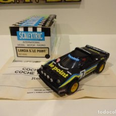 Scalextric: SCALEXTRIC. EXIN. LANCIA STRATOS NEGRO LE POINT. REF. 4065. Lote 243477475