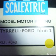 Scalextric: TYRRELL AMARILLO DE EXIN. Lote 243485045