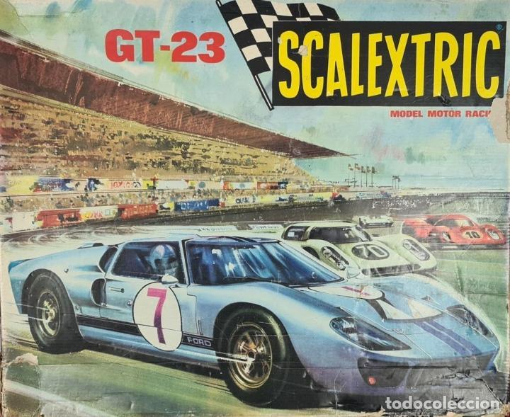 Scalextric: SCALECTRIC MODELO GT-23. MOTOR RACING. EXIN. CIRCA 1970. - Foto 2 - 243567760