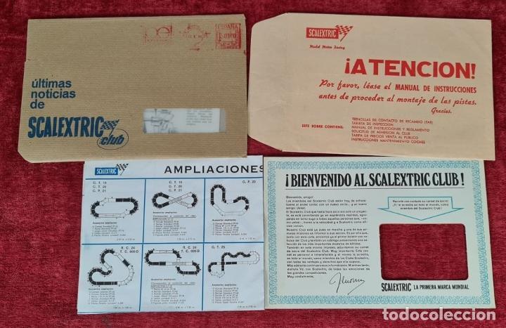 Scalextric: SCALECTRIC MODELO GT-23. MOTOR RACING. EXIN. CIRCA 1970. - Foto 9 - 243567760