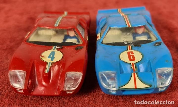 Scalextric: SCALECTRIC MODELO GT-23. MOTOR RACING. EXIN. CIRCA 1970. - Foto 11 - 243567760