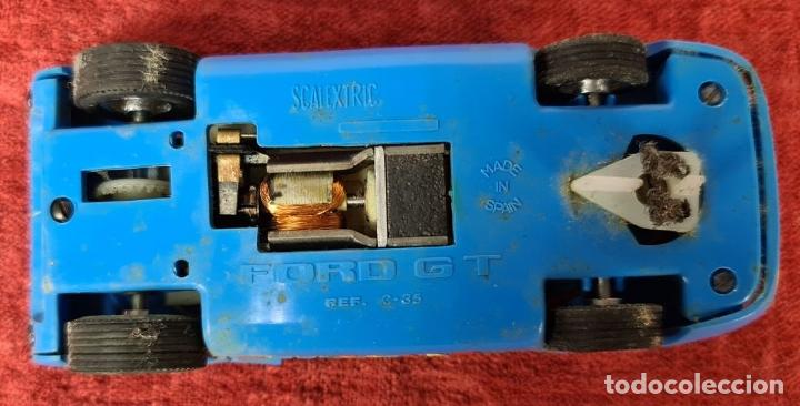 Scalextric: SCALECTRIC MODELO GT-23. MOTOR RACING. EXIN. CIRCA 1970. - Foto 14 - 243567760