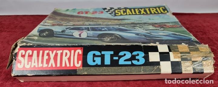 Scalextric: SCALECTRIC MODELO GT-23. MOTOR RACING. EXIN. CIRCA 1970. - Foto 15 - 243567760