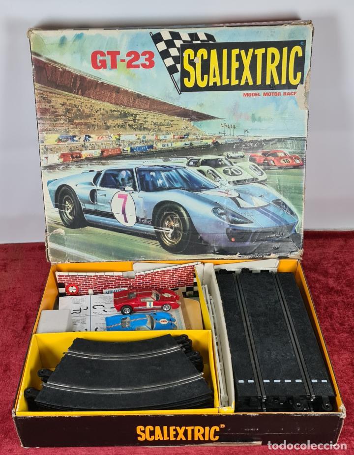 SCALECTRIC MODELO GT-23. MOTOR RACING. EXIN. CIRCA 1970. (Juguetes - Slot Cars - Scalextric Exin)