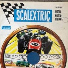 Scalextric: FOLLETO PUBLICITARIO - CATALOGO COCHES SCALEXTRIC AÑO 1968 INGLATERRA. Lote 244009775
