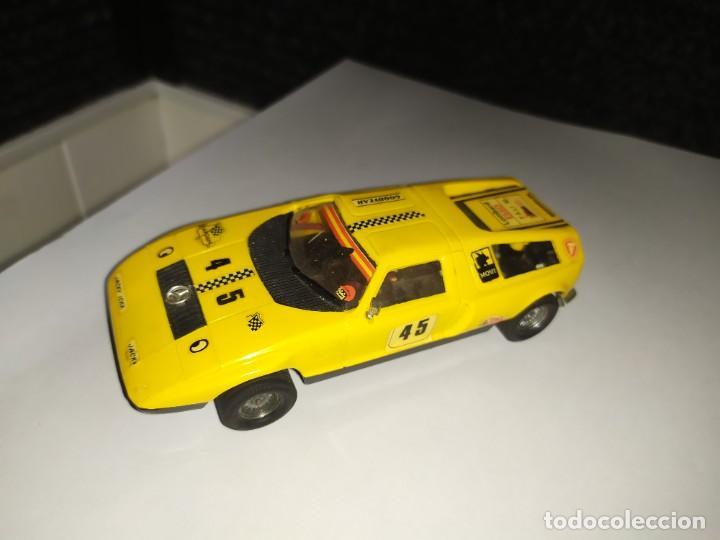 SCALEXTRIC - MERCEDES C-111 REF. C-44 AMARILLO - MONTECARLO NUMERO 45 - MADE IN SPAIN (Juguetes - Slot Cars - Scalextric Exin)