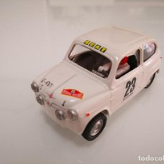 Scalextric: SEAT 600 SCALEXTRIC ALTAYA PLANETA COLECCIÓN. Lote 244619315