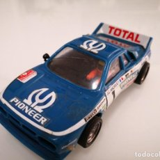 Scalextric: LANCIA 037 EXIN SCALEXTRIC AZUL PIONEER. Lote 244625800