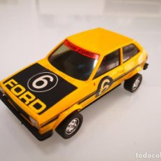 Scalextric: FORD FIESTA EXIN AMARILLO SCALEXTRIC 4057. Lote 244625830