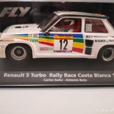 Scalextric: SCALEXTRIC FLY. RENAULT 5 TURBO. RALLY RACE COSTA BLANCA 1984. SAINZ-BOTO. REF. A-1203. Lote 244626290