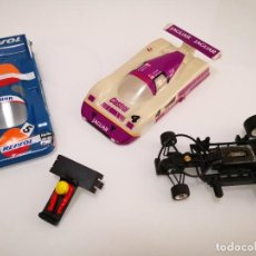 Scalextric: LOTE JAGUAR NISSAN REPSOL SRS SCALEXTRIC. Lote 244626465