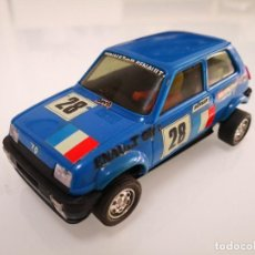 Scalextric: RENAULT 5 COPA AZUL REF. 4058 COCHE SCALEXTRIC EXIN. Lote 244626525