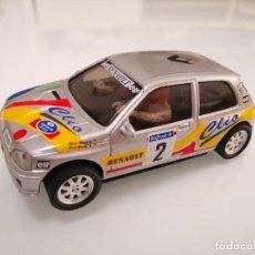 Scalextric: RENAULT CLIO 16V CAMPEÓN DE RALLYES - ORIOL GÓMEZ 1994 - NINCO 50119 SCALEXTRIC. Lote 244626570