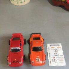 Scalextric: 2 PORSCHE CARRERA RS REF4051. Lote 244805440