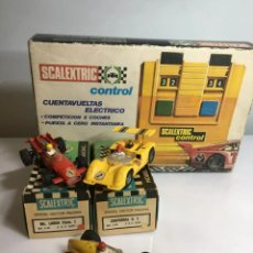 Scalextric: LOTE ANTIGUO SCALEXTRIC. Lote 244876845