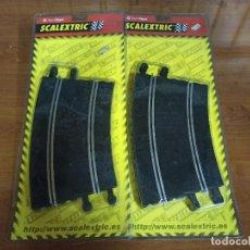 Scalextric: SCALEXTRIC 2 BLISTER CON 4 CURVA SUPERXTERIOR. Lote 244930755