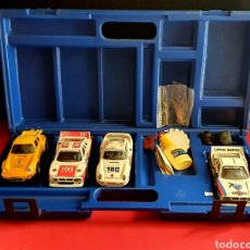 Scalextric: COCHES PORSHE CARERA RS REF -4051-PORSHE 959 Y2 COCHE LANCIA RALLY 037 .MAS ACCESORIOS VER FOTOS. Lote 245031600