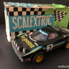 Scalextric: COCHE SCALEXTRIC CON CAJA LANCIA STRATOS LE POINT REF 4055 TODO ORIGINAL EXIN TAL CUAL SE VE. Lote 245198485