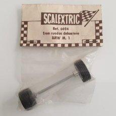 Scalextric: BMW M1 EJE DELANTERO ORIGINAL SCALEXTRIC EXIN BLISTER REFERENCIA 6024. Lote 245248045