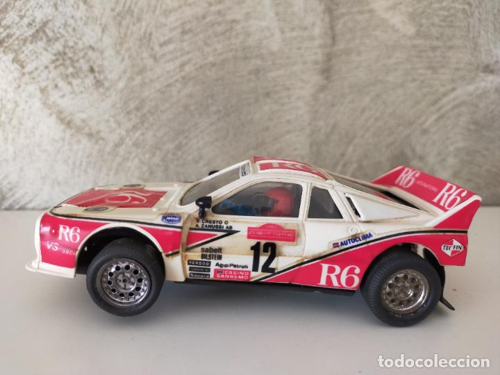 Scalextric: LANCIA RALLY R-6 EXIN SCALEXTRIC - Foto 5 - 245996160