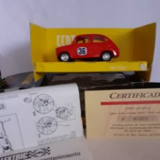 Scalextric: SCALEXTRIC EXIN VINTAGE EN CAJA SEAT 600 CON CERTIFICADO. Lote 246230890