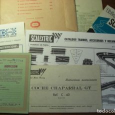 Scalextric: EXIN . CIRCUITO G. T. 18. SOBRE DOCUMENTACIÓN. 100 % ORIGINAL.. Lote 138958362