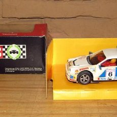 Scalextric: SCALEXTRIC - EXIN - FORD RS 200 - SHELL - REF. 4079 - CON LUCES - TRACCION TOTAL. Lote 247724980